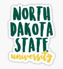 North Dakota State University - Design 2 Sticker
