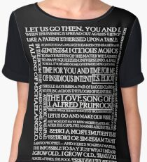 The Love Song of J. Alfred Prufrock 2 Chiffon Top