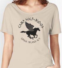 Camiseta ancha para mujer Campamento mestizo