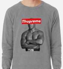 Mike Tyson Supreme Box Logo Parody Lightweight Sweatshirt