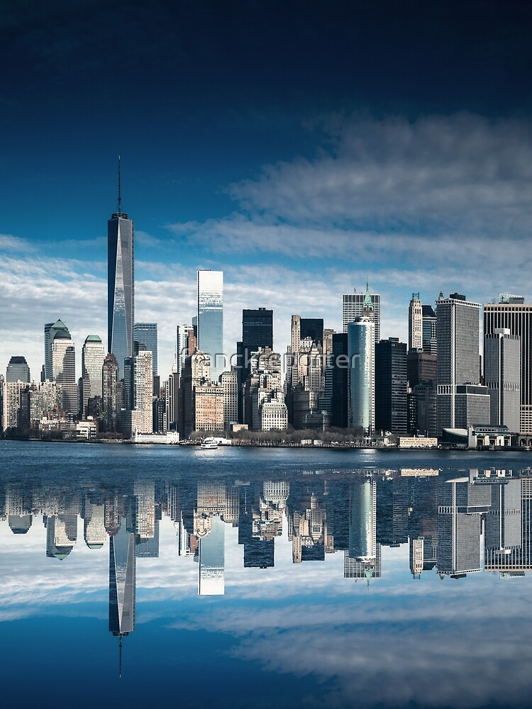 nyc skyline  by franckreporter