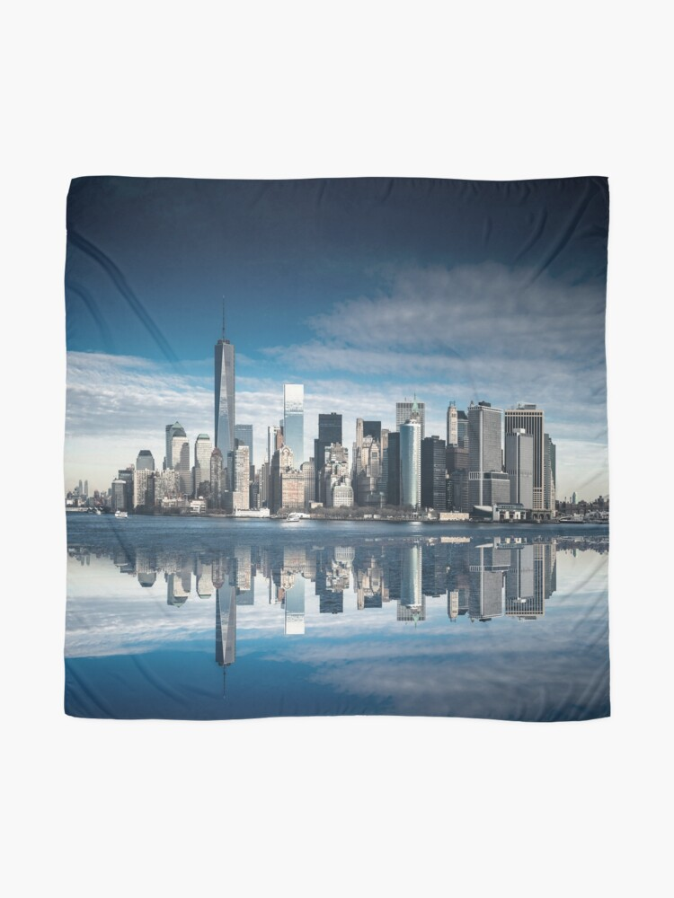Alternate view of nyc skyline  Scarf