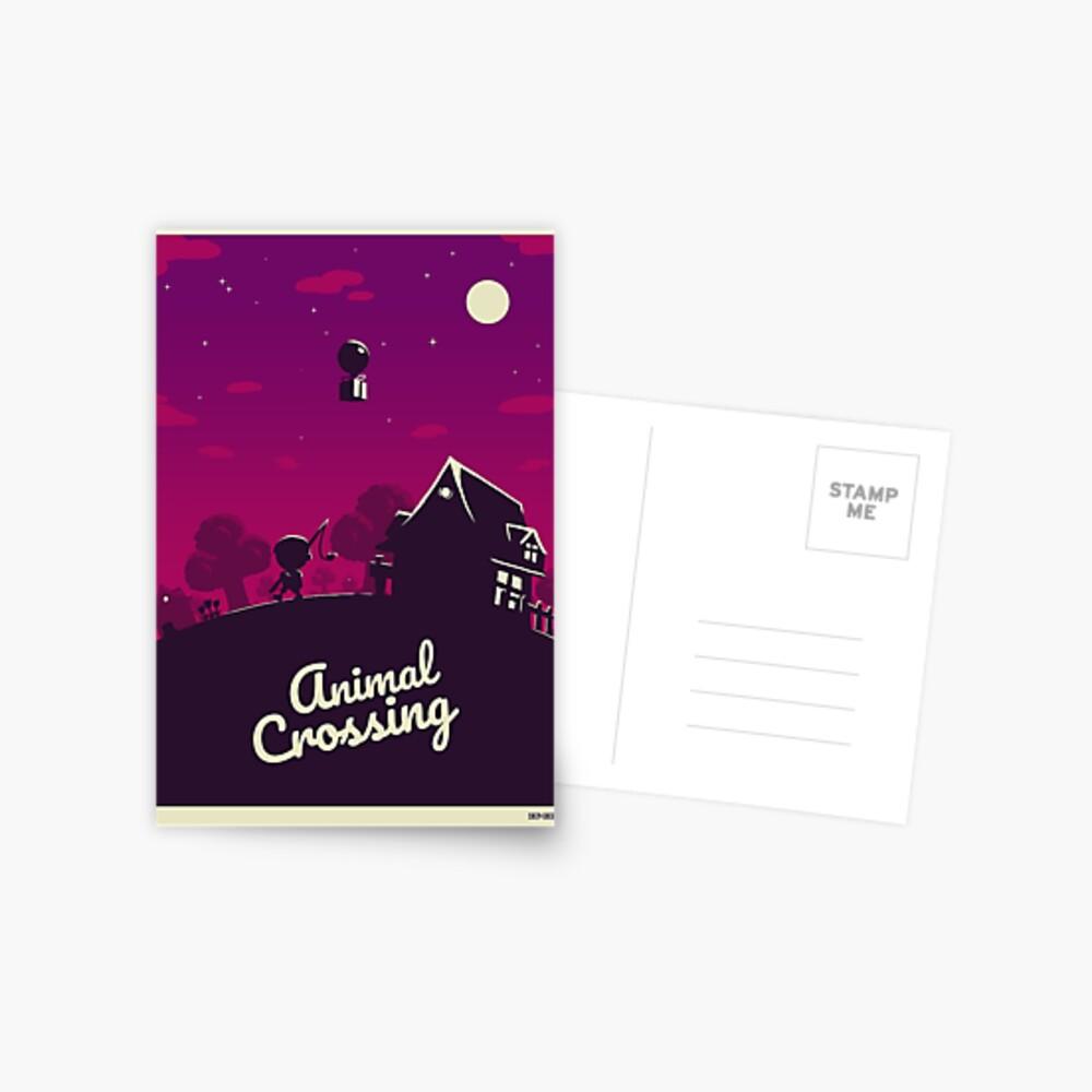Wildwechsel Postkarte