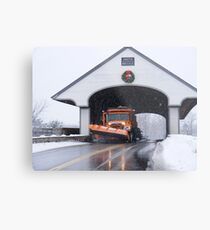 Smith Covered Bridge   Metal Print