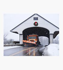 Smith Covered Bridge   Photographic Print