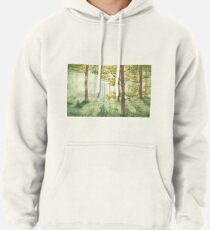 Between the trees. Pullover Hoodie