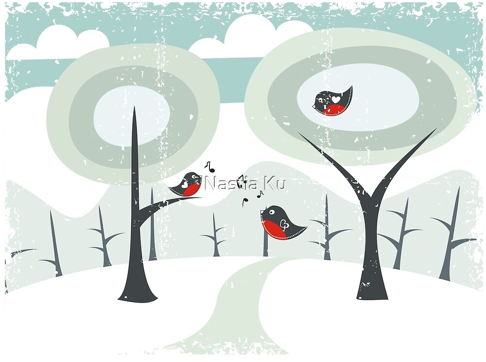 winter card by ychty