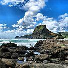 Volcanic beach by Zak Bacon