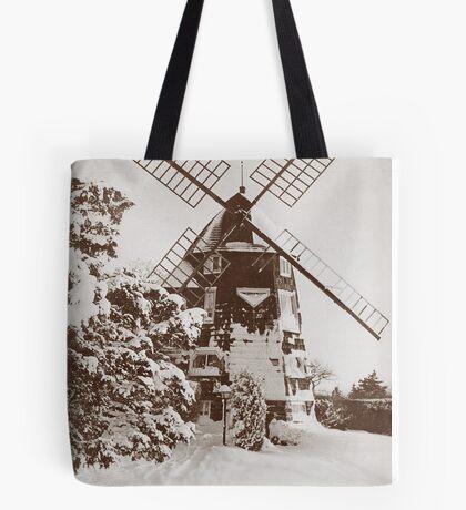 Winter Windmill Tote Bag