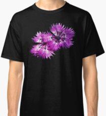 Dianthus (T-Shirt), dark, watercolor effect Classic T-Shirt