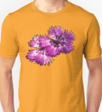 Dianthus (T-Shirt), dark, watercolor effect Unisex T-Shirt