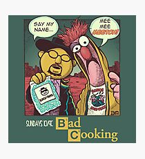 Bad Cooking Photographic Print