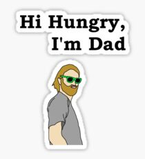 Hi Hungry, I'm Dad Sticker