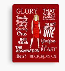Glorificus - Buffy the Vampire Slayer Canvas Print