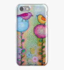 Birds in the Garden  iPhone Case/Skin