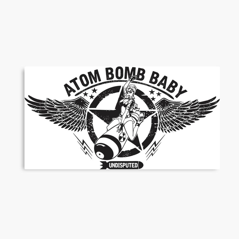 Atombombe Baby Leinwanddruck
