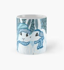Under the Mistletoe Arctic Hares Mug