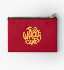 Two Whole Cakes! (Round) Studio Pouch