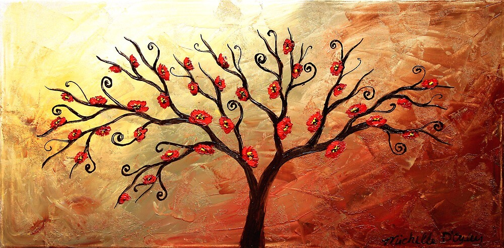 The Blossom Tree by Abstract D'Oyley