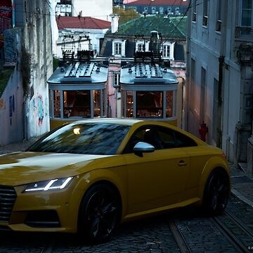 Car Photography - Audi TTS by JayBakkerArt