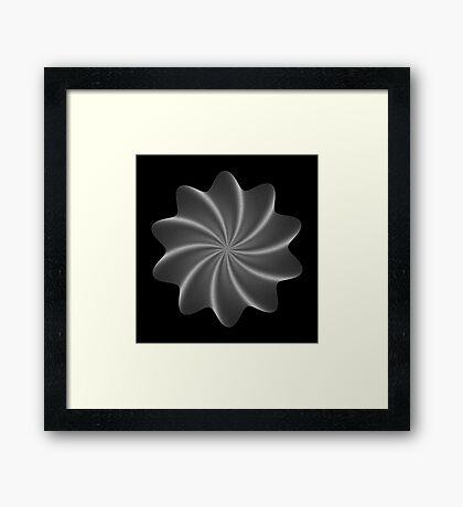 Polar Flower V Framed Print