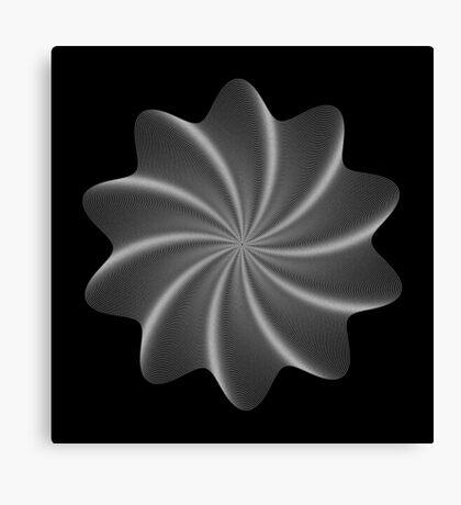 Polar Flower V Canvas Print