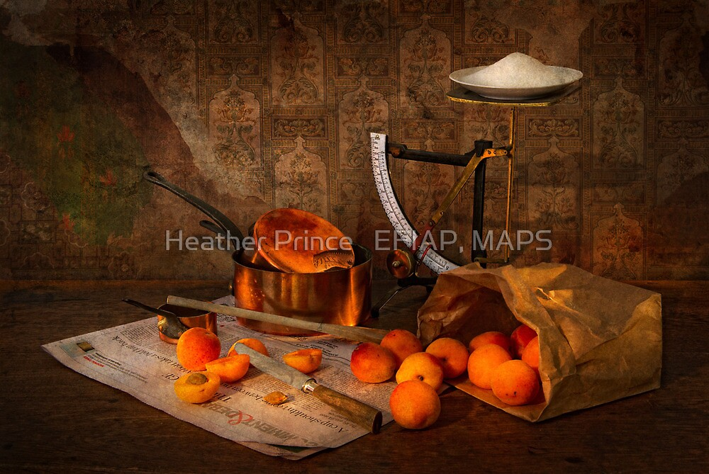 Making Apricot Jam by Heather Prince