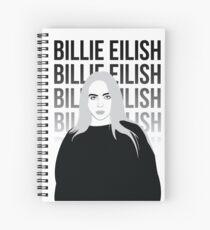 Billie Eilish 4 Spiral Notebook