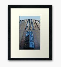 Facade Framed Print
