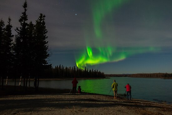 Adventures Watch the Light on a Lakeside  by Aaron Lojewski