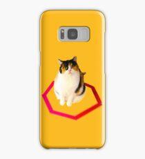 cat trap Samsung Galaxy Case/Skin