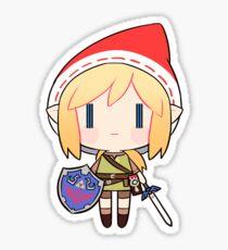 A Christmas Link Sticker
