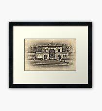 Corporation Park Framed Print