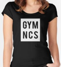 gymnastic gymnastic Women's Fitted Scoop T-Shirt