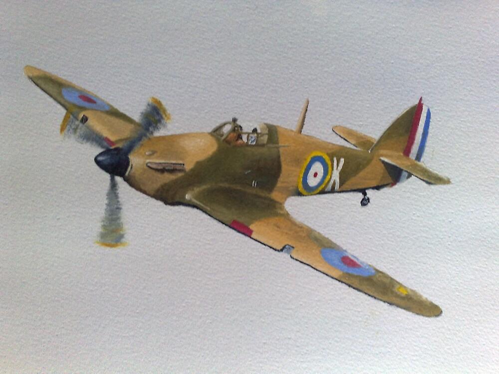 Hawker Hurricane - WWII Fighter Plane by Ian Morton