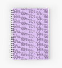 and... 5678 Spiral Notebook