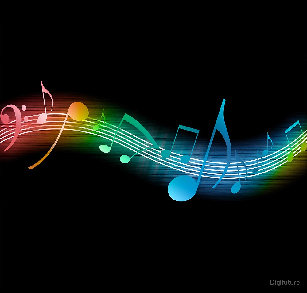 Music Notes by Digifuture