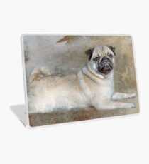 Pug Pose Laptop Skin