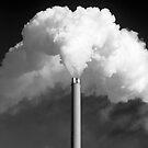 Smoking chimney by Alex Ramsay