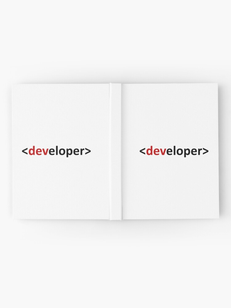 Vista alternativa de Cuaderno de tapa dura Developer