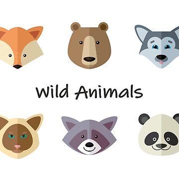 Wild Animals by alijun
