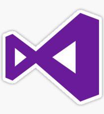 Visual Studio Logo Sticker