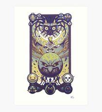 zelda majora's mask Art Print