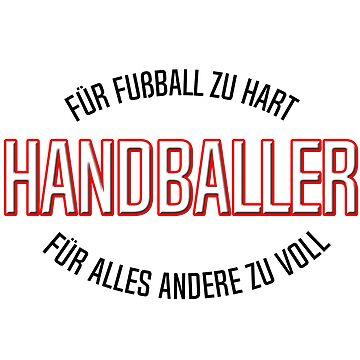 Handball Team Mannschaft von WolflandShirts