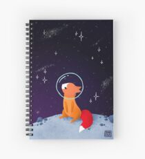 Somewhere Out There Spiral Notebook