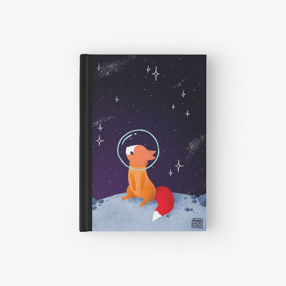 Somewhere Out There Hardcover Journal