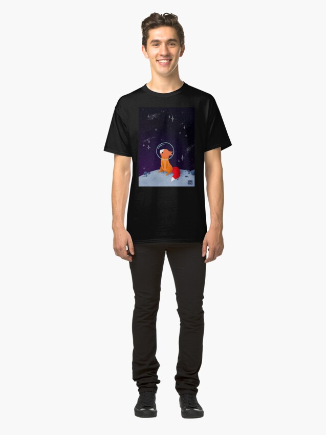 Alternate view of Somewhere Out There Classic T-Shirt