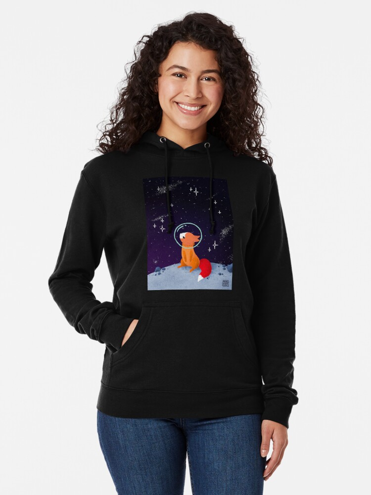 Alternate view of Somewhere Out There Lightweight Hoodie
