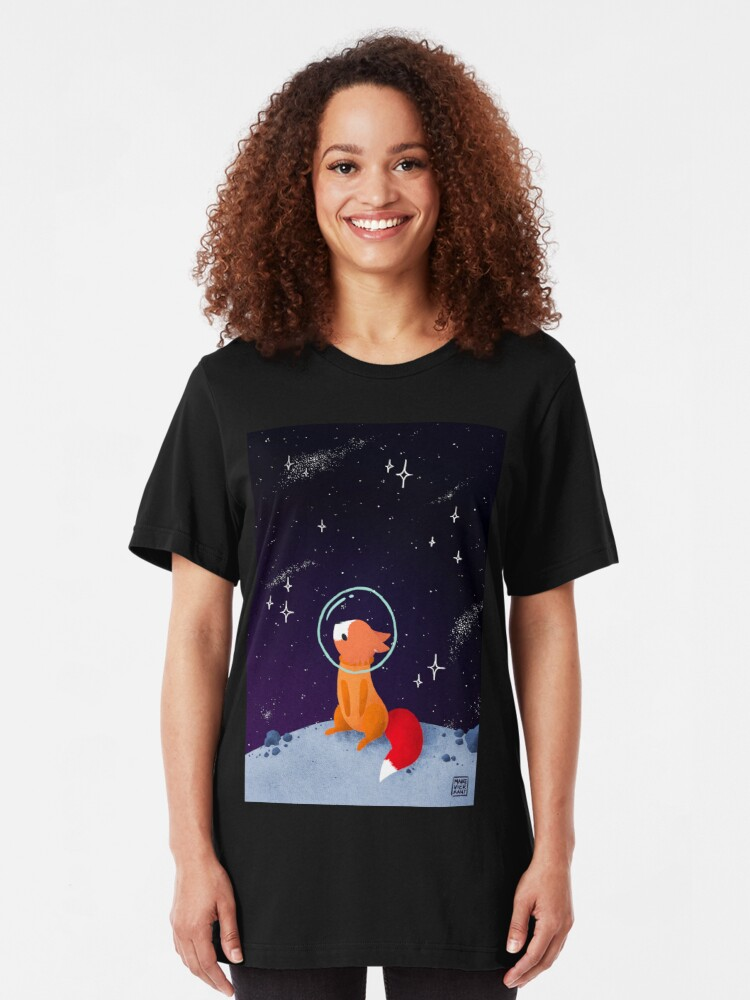 Alternate view of Somewhere Out There Slim Fit T-Shirt