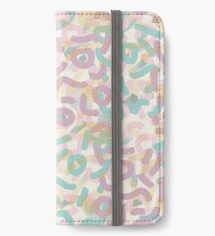 Funny Mess #redbubble #abstractart iPhone Wallet